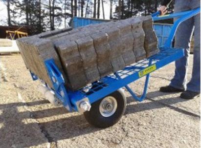 Wózek brukarski 200kg KRAB 800