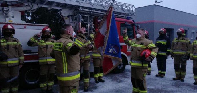 Artykuł: Ślubowanie strażaków w Komendzie Powiatowej PSP w Braniewie