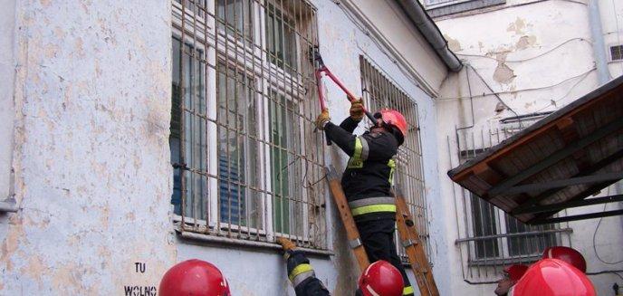 Artykuł: Strażacy ćwiczą ...policjantów