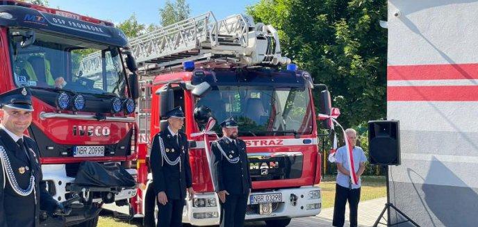 Artykuł: Przekazanie pojazdu dla fromborskich strażaków