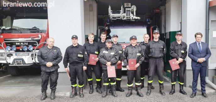Artykuł: Kolejni wyszkoleni strażacy – ochotnicy