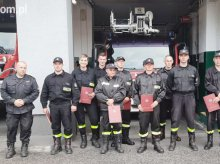 Kolejni wyszkoleni strażacy – ochotnicy