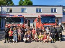"""""""Bezpieczne Wakacje"""" – spotkanie strażaków z najmłodszymi"""