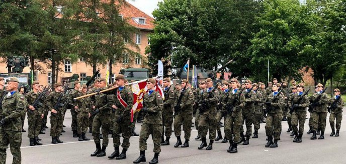 Artykuł: Wojskowa przysięga WOT w Braniewie