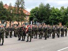 Wojskowa przysięga WOT w Braniewie