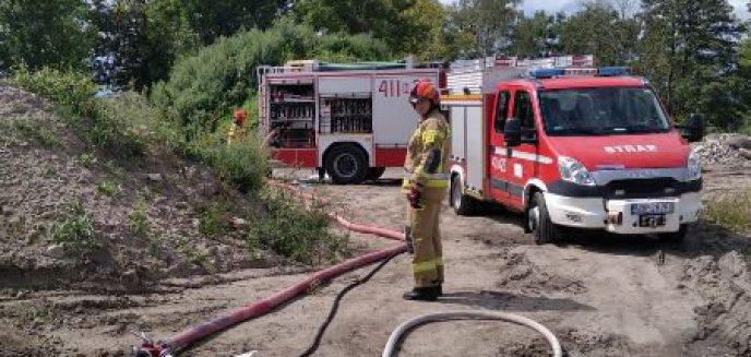 Artykuł: Pożar śmieci w Bobrowcu