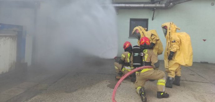 """Artykuł: Ćwiczenia strażaków """"Browarny Incydent 2021"""""""