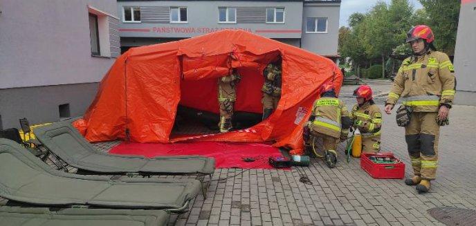 Artykuł: Doskonalenie zawodowe strażaków z wykorzystaniem pneumatycznego namiotu ratowniczego