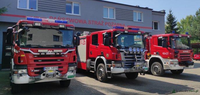 Artykuł: UWAGA – to tylko strażackie ćwiczenia!